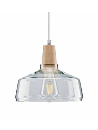 Lámpara colgante Yva 1L E27 cristal - Paulmann
