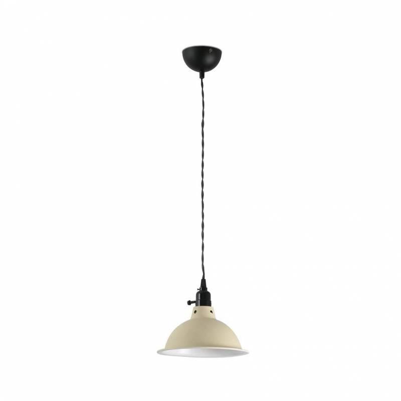 Lámpara cogante Pepper 1L E27 beige - Faro