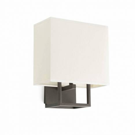 FARO Vesper 1L E14 wall lamp brown