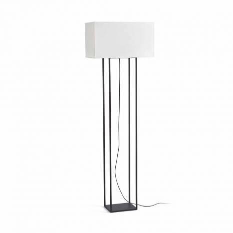 Lámpara de pie Vesper 2L E27 marrón - Faro
