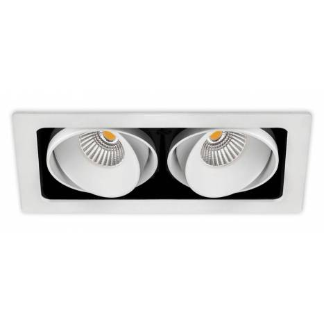 ARKOSLIGHT Twist Double LED recessed light white