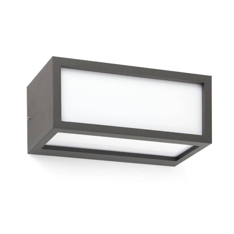 FARO Tejo outdoor wall lamp 1L grey