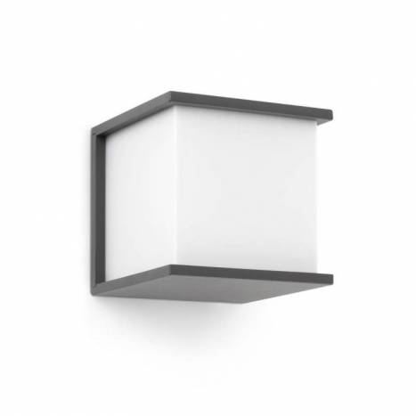 FARO Kubick outdoor wall lamp grey