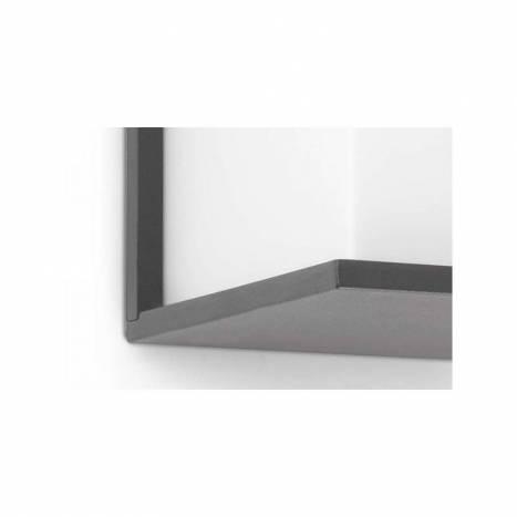 Aplique de pared Kubick gris oscuro de Faro