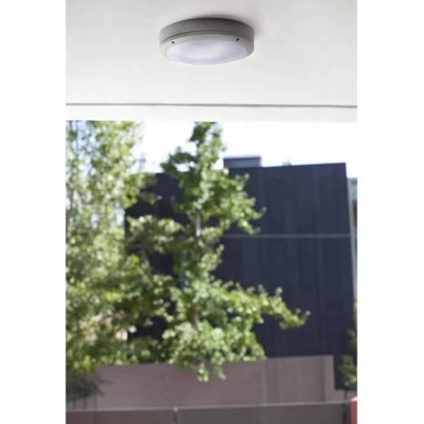 FARO Yen outdoor wall lamp 1L grey