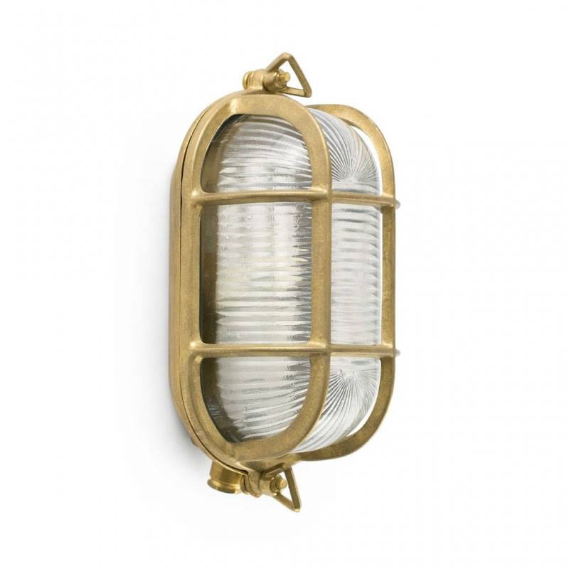FARO Cabo outdoor wall lamp 1L brass