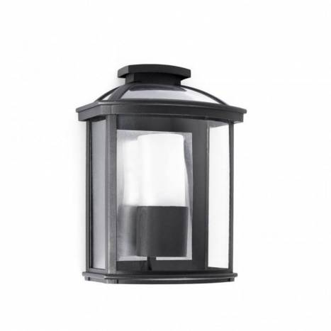 FARO Ceres outdoor wall lamp 1L black