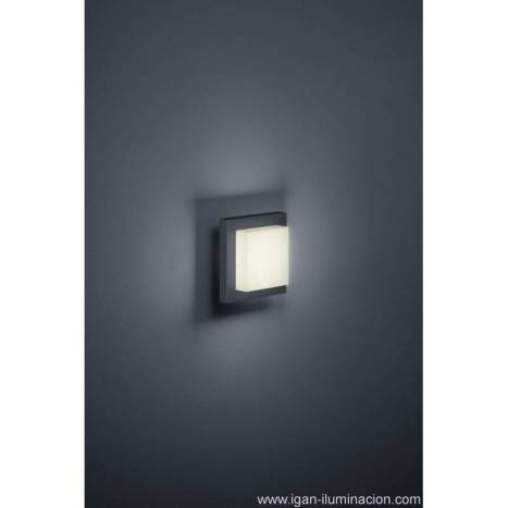 Trio Hondo outdoor wall lamp LED 4w anthracite