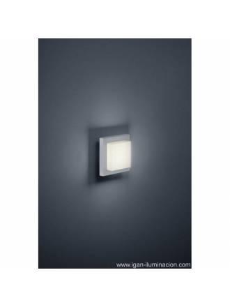 Aplique de pared Hondo 4w LED gris - Trio