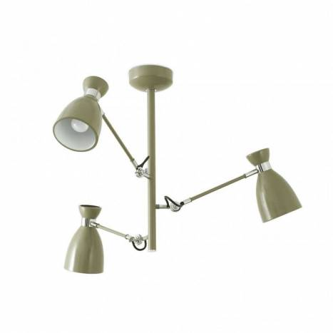 Faro retro ceiling lamp 3l green aloadofball Image collections