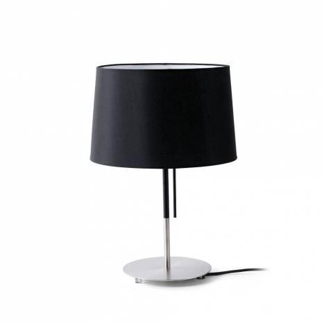 Lámpara de mesa Volta negra - Faro
