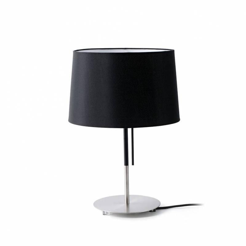 L mpara de mesa volta negra faro - Lamparas de mesa clasicas ...