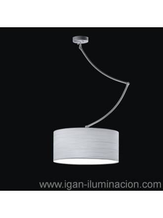 Lámpara colgante Cisne 3L blanco - Brilliance