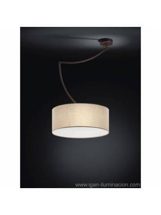 Lámpara colgante Cisne 3L oxido - Brilliance