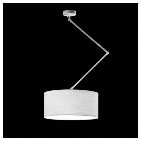 Lámpara colgante Flamingo 3L blanco - Brilliance
