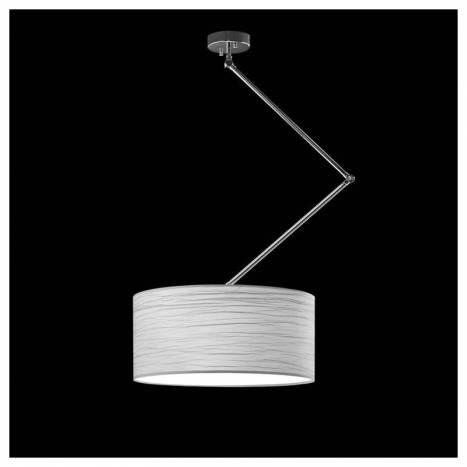 Lámpara colgante Flamingo 3L cromo - Brilliance