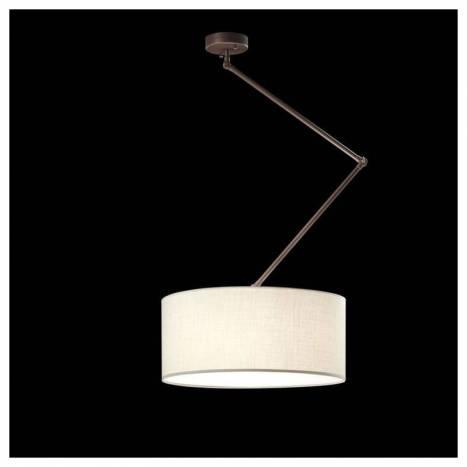Lámpara colgante Flamingo 3L marrón - Brilliance