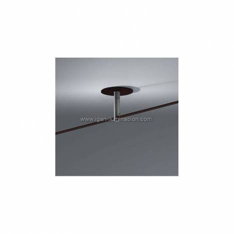 BRILLIANCE Cane ceiling lamp scroll brown metal