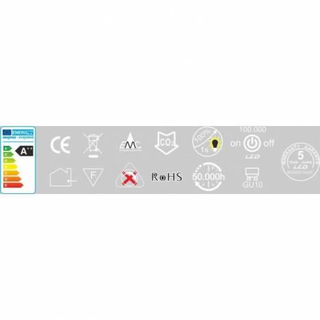 Bombilla LED 6w GU10 60º Hook - Beneito Faure