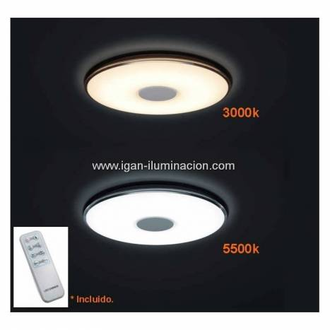 Trio Tokyo ceiling lamp LED 50w dimmable
