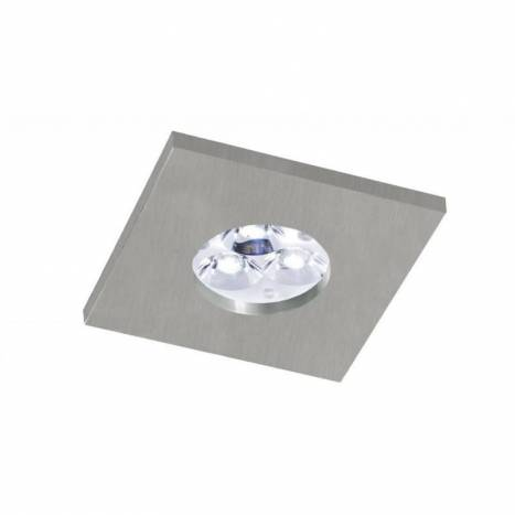 BPM 3006 IP65 square recessed light aluminium