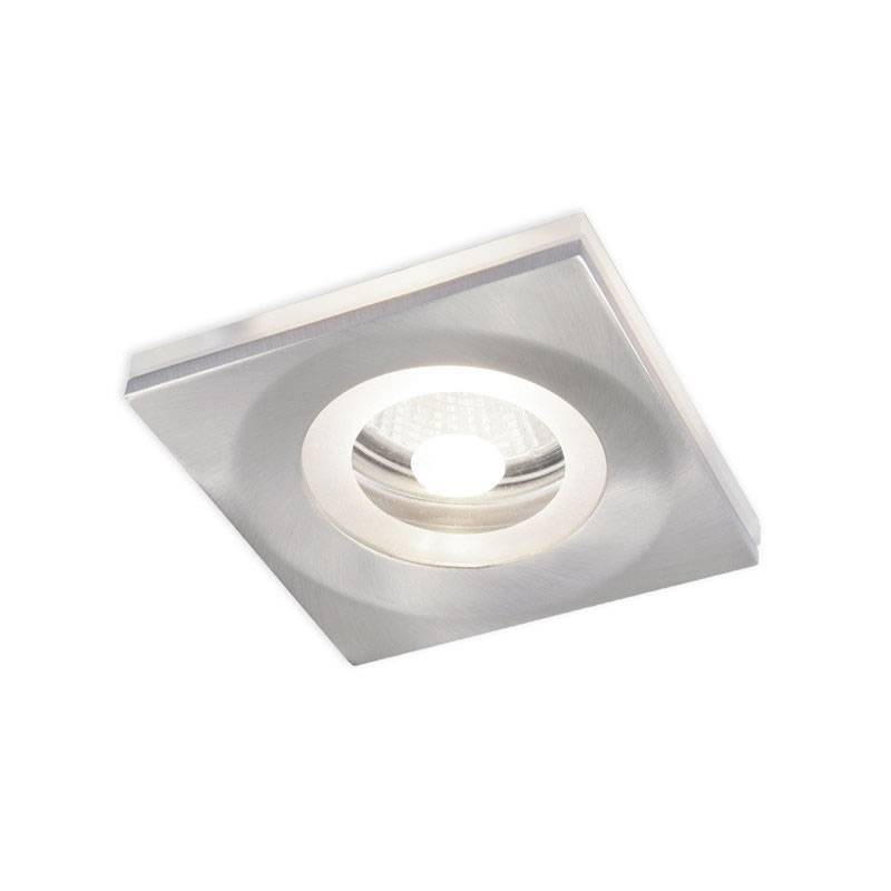 OLE by FM Boreal recessed light nickel and glass