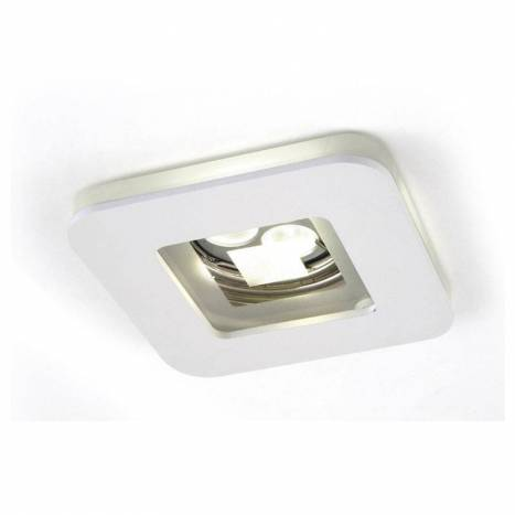 OLE by FM Artic recessed light white and glass