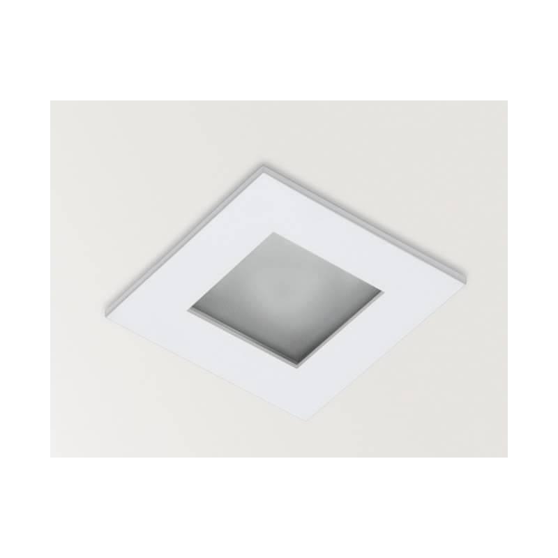Foco empotrable Win IP44 cuadrado blanco - Arkoslight