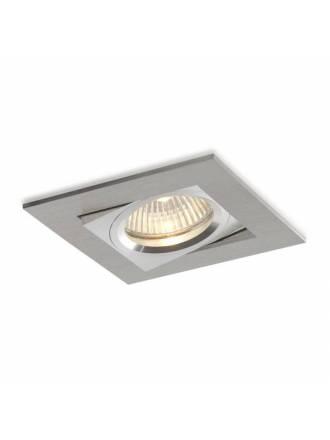 BPM Care square recessed light aluminium