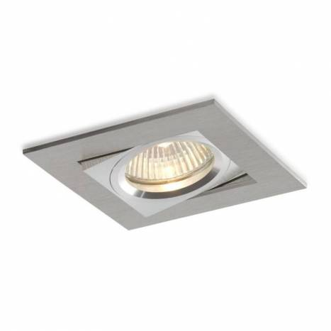 Bpm care square recessed light aluminium aloadofball Images