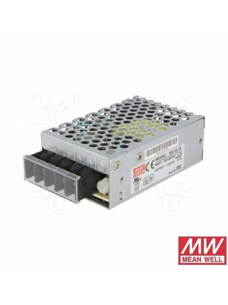 Fuente alimentación Mean Well 25w 12v