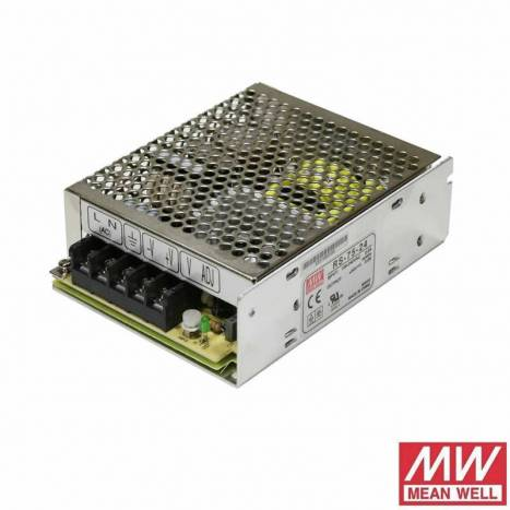 Fuente alimentación Mean Well 75w 24v