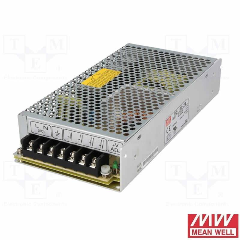 Mean Well Lrs 150 24 Power Supply 150w 24v