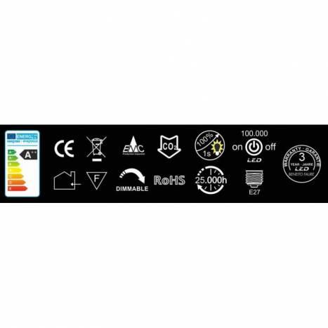 BENEITO FAURE Standard Dimmable E27 LED Bulb 10w 220v