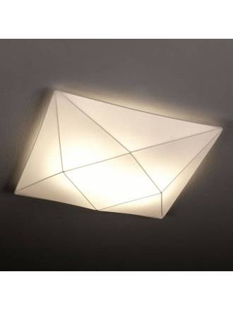 OLE by FM Polaris ceiling lamp 42cm white fabric