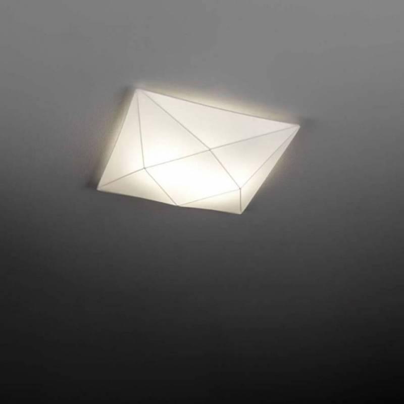 Ole By Fm Polaris Ceiling Lamp 4l E27 58cm White Fabric