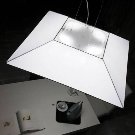 Lámpara colgante Polaris 80x80cm 4 luces - Ole