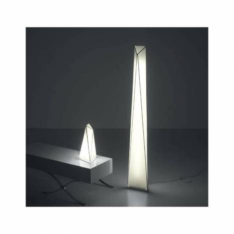 OLE by FM Polaris table lamp 1L white fabric