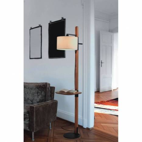 Brilliance tray floor lamp 1l e27 pine wood brilliance tray floor lamp pine wood aloadofball Images