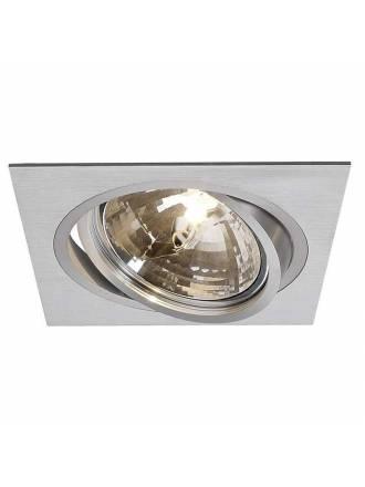 MASLIGHTING 2256 square cardan recessed light aluminium
