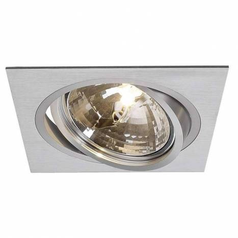 MASLIGHTING 2256 square cardan recessed light aluminium
