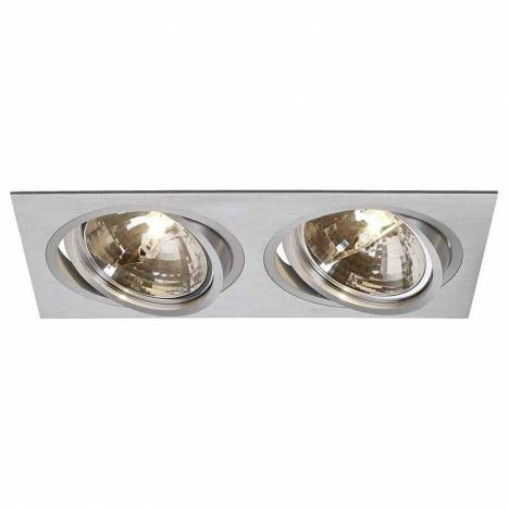 MASLIGHTING 2256 2L cardan recessed light aluminium