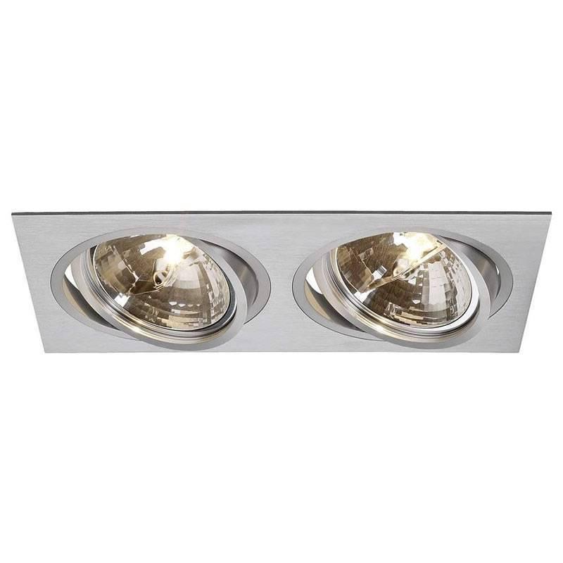 MASLIGHTING 2256 2L cardan recessed light aluminium