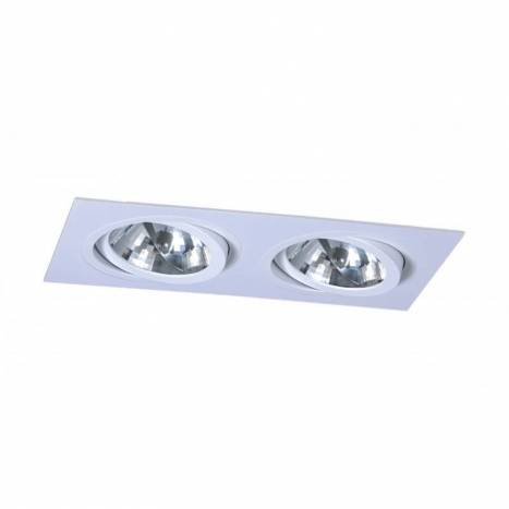 MASLIGHTING 256 2L cardan recessed light white