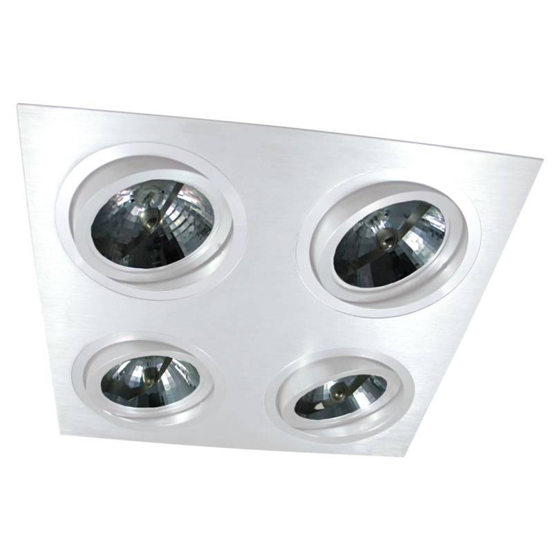 MASLIGHTING 256 4L cardan recessed light white