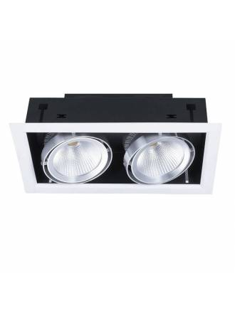 KIMERA Cardan recessed light LED 2x20w