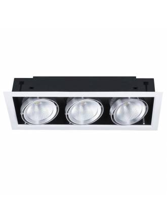 KIMERA Cardan recessed light LED 3x20w