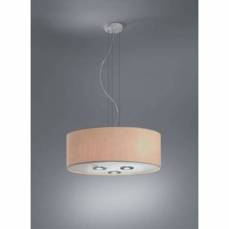BRILLIANCE Sun pendant lamp 60 fabric shade