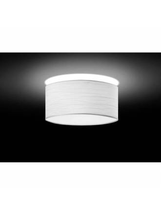 BRILLIANCE Flamingo ceiling lamp white pearl fabric