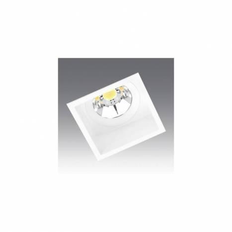 ONOK Box recessed light white aluminium